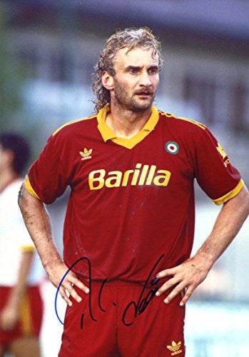Rudi Völler AS ROMA autograph, IP signed photo