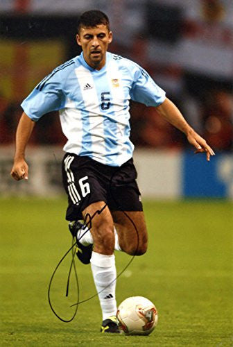 Walter Samuel ARGENTINE autograph, IP signed photo