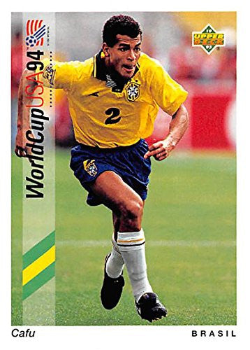Cafu 1993 World Cup Trading Card