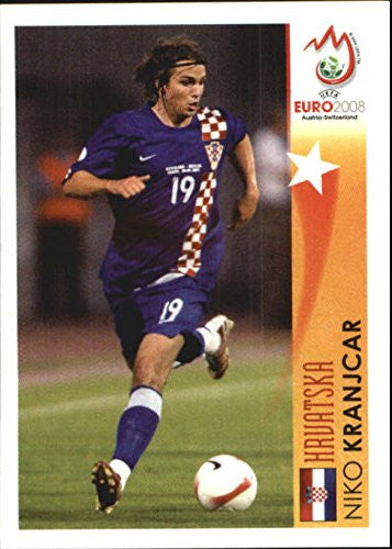 2008 Panini UEFA Euro Austria-Switzerland Stickers #482 Niko Kranjcar In Action - NM-MT