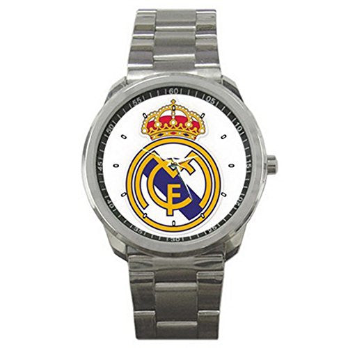 Real Madrid CF Stainless Steel Wristwatch
