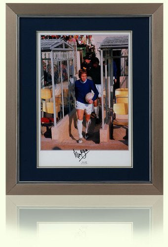 "Alan Ball Hand Signed 16x12"" Everton F.C. Framed Photograph"