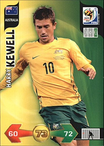 2010 Adrenalyn XL World Cup #131 Harry Kewell - NM-MT