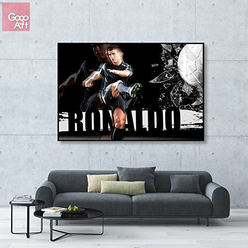 Canvas Print Cristiano Ronaldo Wall Art