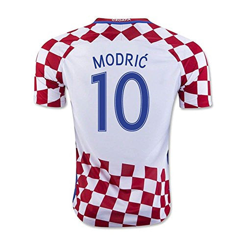 2016-17 Croatia Home Shirt (Modric 10) - Kids