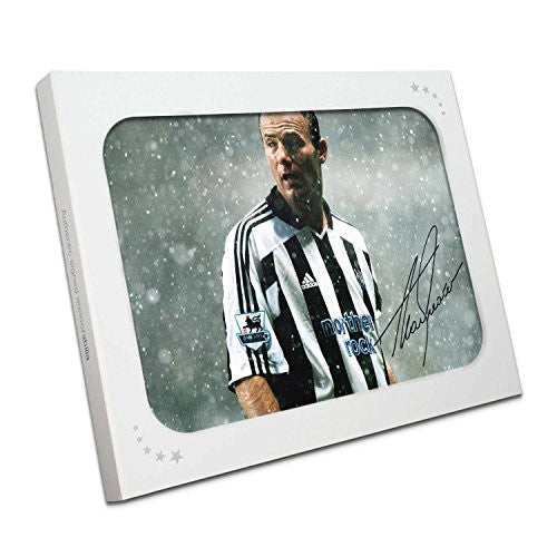 Alan Shearer Signed Newcastle United Photo: Toon Legend. In Gift Box