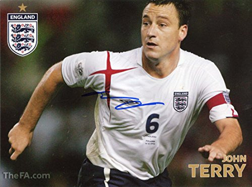 John Terry In-Person Signed Photo