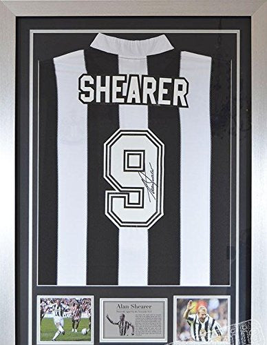 Alan Shearer Newcastle United - Autographed Jerseys