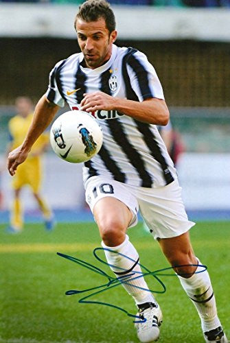 Alessandro Del Piero SOCCER autograph, In-Person signed photo