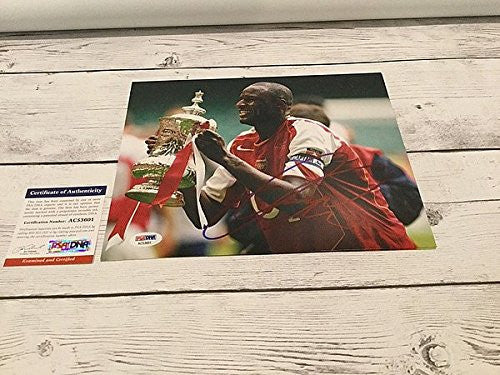 Patrick Vieira Signed Arsenal FC 8x10 Photograph - PSA/DNA Authenticated