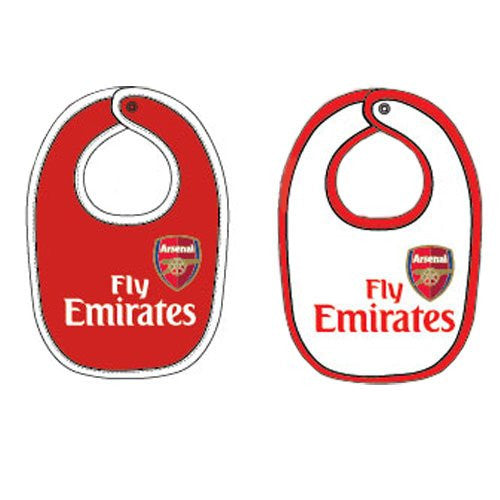 Arsenal FC Baby Bibs - Official Merchandise