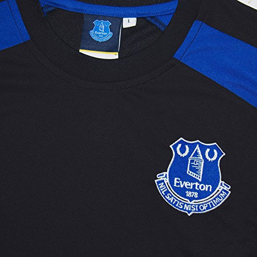 Everton FC Training Shirt Black