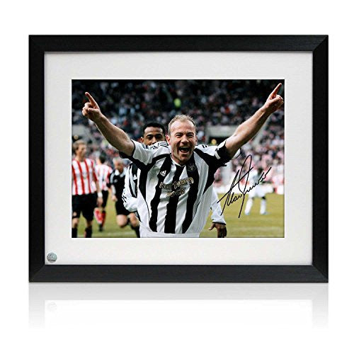 Alan Shearer Signed And Framed Newcastle United Photo: Sunderland Penalty