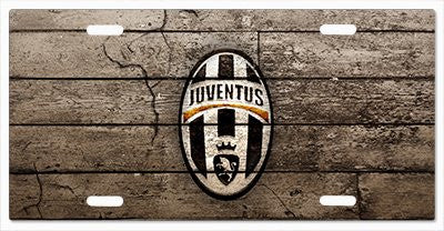 Juventus FC License Plate