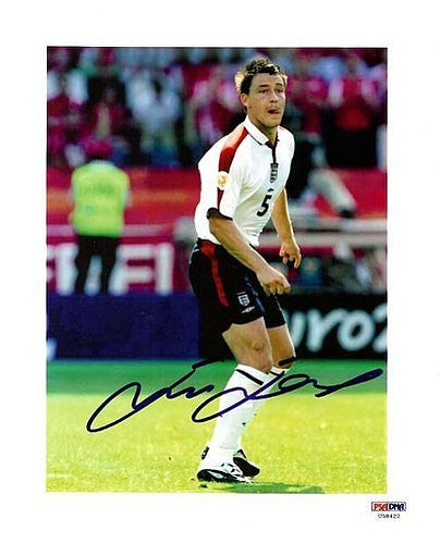 John Terry Signed 8x10 Photograph England
