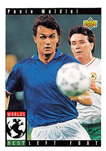 Paolo Maldini Trading Card - World Cup #105