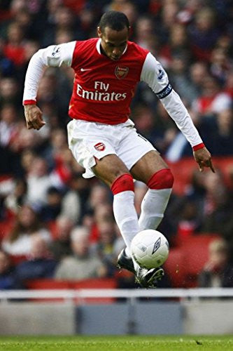 Thierry Henry Stars Spun Silk Fabric Cloth Wall Poster
