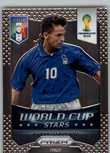 Roberto Baggio Panini World Cup Card