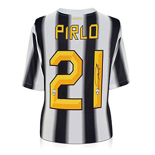 Andrea Pirlo Signed Juventus 2011-12 Soccer Jersey