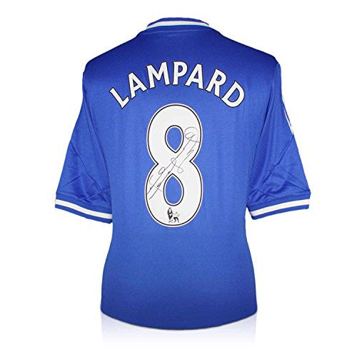 Frank Lampard Signed Chelsea 2013-14 Jersey