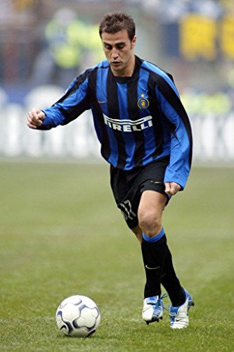 Fabio Cannavaro Silk Fabric Cloth Wall Poster Print (20x13inch 50x33cm)