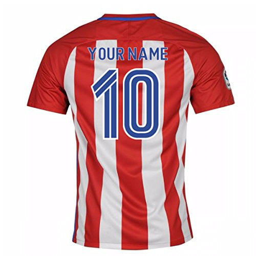 2016-17 Atletico Madrid Home Shirt (Your Name)