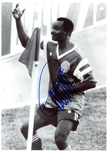 Roger Milla CAMEROON autograph, IP signed photo
