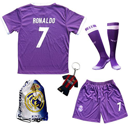 Real Madrid 'Ronaldo #7' Away Purple 2016/2017