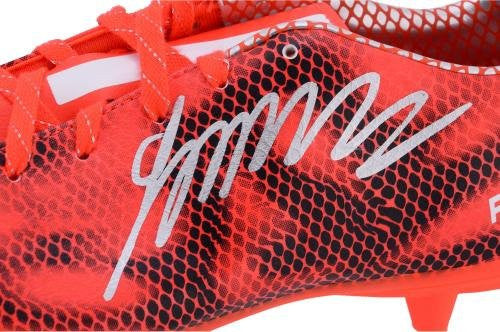 James Rodriguez Real Madrid Autographed Orange Adidas Soccer Cleats - Fanatics Authentic Certified - Autographed Soccer Cleats