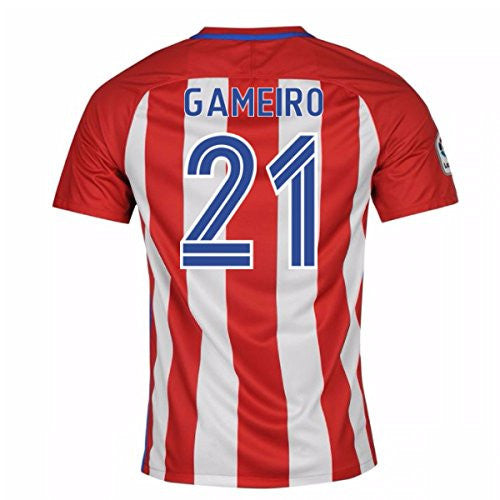 2016-17 Atletico Madrid Home Shirt (Gameiro 21)