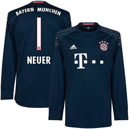 Bayern Munich Home Neuer Goalkeeper Jersey 2016 / 2017 (Official Printing)