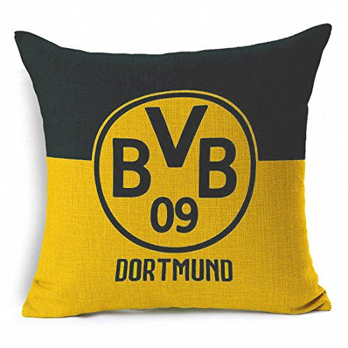 Borussia Dortmund Throw Pillow