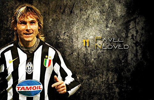 Pavel Nedved 37x24 inch Silk Poster