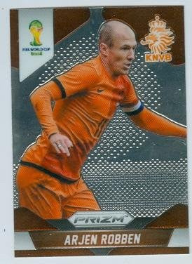 Arjen Robben Trading Card  2014 World Cup Prizm Chrome #29