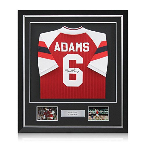 Tony Adams Signed Arsenal 1994 Jersey