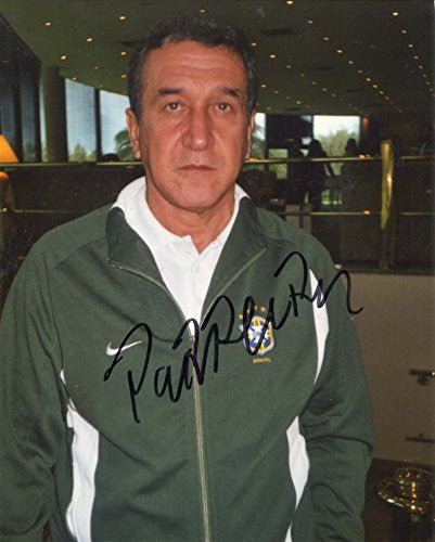 Carlos Alberto Parreira autograph, IP signed photo