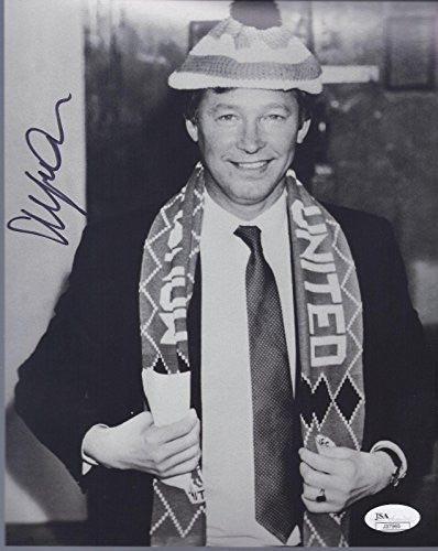 Alex Ferguson Signed Photo - Sir Manchester United F c 8x10 Coa - JSA Certified - Autographed Soccer Photos