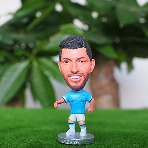Manchester City Toy Figure Kun Aguero #16