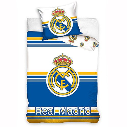Real Madrid CF Twin Cotton Duvet Cover Set