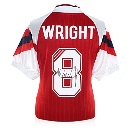Ian Wright Signed Arsenal Football Jersey