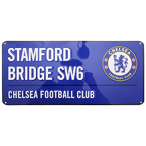 Chelsea FC Stamford Bridge Street Sign