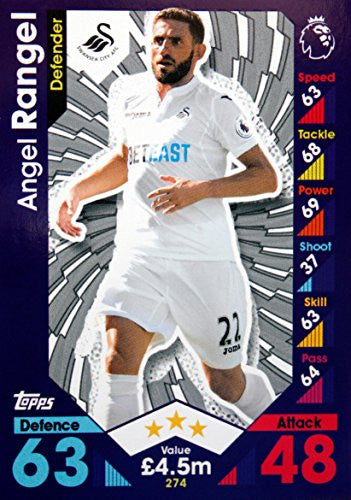 Match Attax 16/17 > Angel Rangel Swansea City > #274