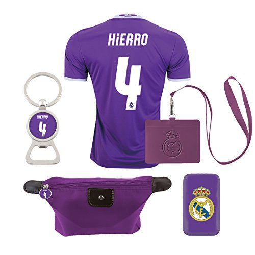 #4 Hierro (6 in 1 Combo) Real Madrid C.F. Away Jersey 2016-2017