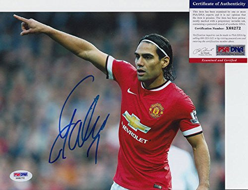 Radamel Falcao Signed Autograph 8x10 Photo PSA/DNA COA #1
