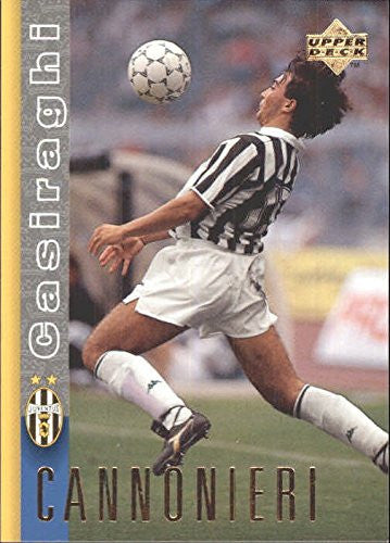 1997-98 Juventus Upper Deck #8 Pierluigi Casiraghi - NM-MT