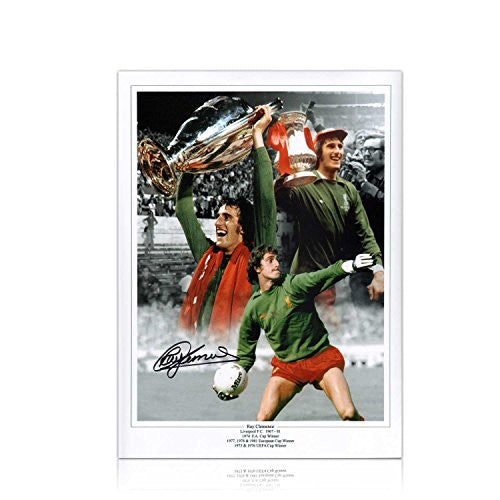 Ray Clemence Signed Liverpool Soccer Photo