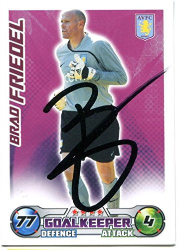 Brad Friedel Signed Trading Card COA