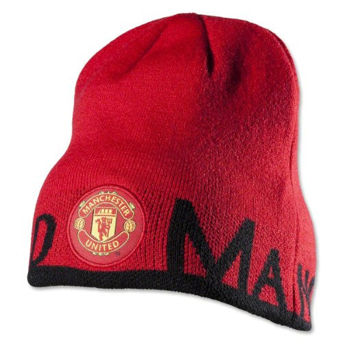 Manchester United Reversible Beanie