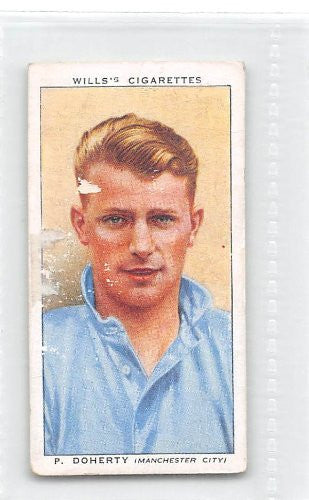 Peter Doherty - Manchester City FC 1939 Wills Cigarettes Association Footballers #17