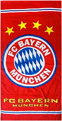 FC Bayern Munich Bath Beach Towel